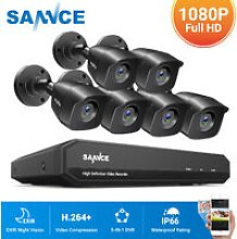 1080P Home Video Security System with 1080N DVR