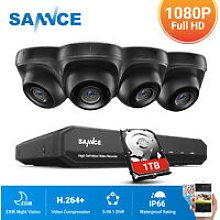 1080P Home Video Security System with 1080P DVR