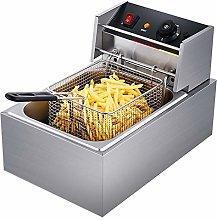 10L 2500W Electric Fryer Commercial Fryer, Single