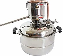 10L Alcohol Distiller Home Brewing Kit Stainless &