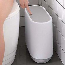 10L Trash Can Pressing Type Trash Bin Toilet Waste