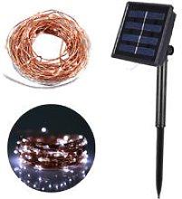 10M/32.8ft 100 LEDs Solar Powered String Lights