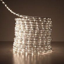10M Cool White LED Rope Light Outdoor Lights