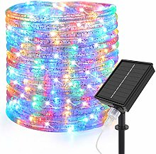 10M Solar Powered Rope Fairy Lights, Speclux