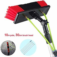 10m Window Cleaning Pole, Window Cleaning Brush