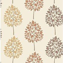 10m x 52cm Wallpaper Roll Brambly Cottage Colour: