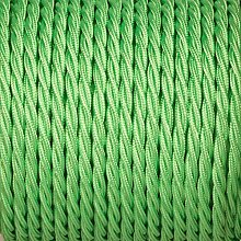 10Meter 3 Core Twisted Silk Braided Vintage Fabric