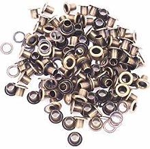 10mm Bronze Long Barrell Eyelets & Washers