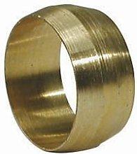 10mm Compression Brass Olive 10 Pack