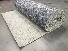 10mm Thick PU Carpet Underlay Rolls | 15m² Total