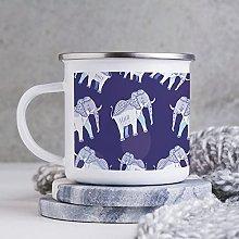 10oz Enamel Mug, Funny Coffee Mug, Animal Figure