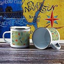 10oz Enamel Mug, Funny Coffee Mug, Organism
