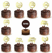10pack Different Styles Happy Birthday Cake