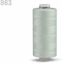 10pc Agate Gray Polyester Threads 500m Unipoly,