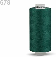 10pc Alpine Green Polyester Threads 500m Unipoly,