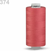10pc Baroque Rose Polyester Threads 500m Unipoly,