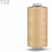 10pc Cornsilk Polyester Threads 500m Unipoly,