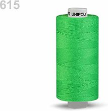 10pc Electric Green Polyester Threads 500m