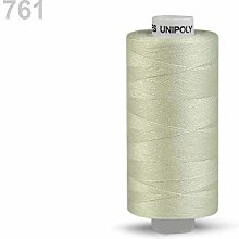 10pc Lime Green Polyester Threads 500m Unipoly,