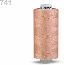10pc Nuciola Polyester Threads 500m Unipoly,