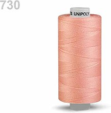 10pc Orange Polyester Threads 500m Unipoly,