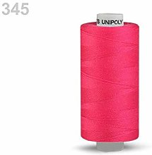 10pc Paradise Pink Polyester Threads 500m Unipoly,