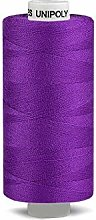 10pc Purple Geber Polyester Threads 500m Unipoly,