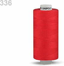 10pc Red Polyester Threads 500m Unipoly, Sewing,