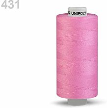 10pc Sachet Pink Polyester Threads 500m Unipoly,