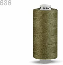 10pc Serpentinit Polyester Threads 500m Unipoly,