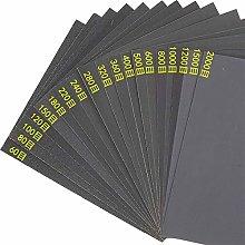 10pcs 60-2000# A4 Sandpaper Abrasive Tools
