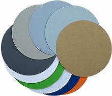 10PCS 8 Inch 200 MM Flocking Waterproof Sandpaper