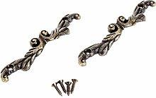 10pcs Antique Brass Furniture Handle Jewelry