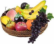 10pcs Artificial Fruit Set,Realistic Looking