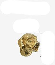 10pcs Brass Pure Copper Portrait Drawer Cabinet