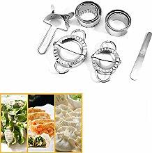 10PCS Dumpling Maker and Cutter Set,Stainless