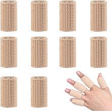 10pcs Finger Sleeves Brace Finger Support