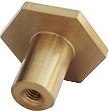 10pcs Furniture Gold Copper Cabinet Knobs Door