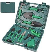 10Pcs Gardening Tool Set, Rustproof Shovel and
