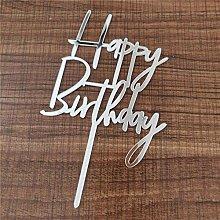 10Pcs Gittler Birthday Cake Topper Bling Sparkle