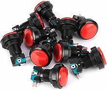 10Pcs Safety Button Switch, ABS Control Switches,