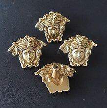 10pcs/Set Creative Brass Pure Copper Portrait