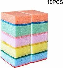 10pcs/set Household Dish Wash Cleaning Sponges