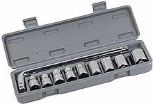 10PCS Sleeve Set Sleeve Tool Set Auto Repair Tool
