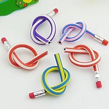 10pcs Soft Flexible Bendy Pencils Magic Bend Kids