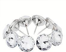 10pcs Victoria Style Diamond Crystal Upholstery