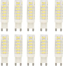 10x G9 LED Light Bulbs 7W LED Bulb Lamp Lights