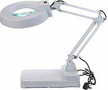 10x Magnifying Glass Lamp - Daylight Bright