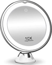 10X Magnifying Makeup Mirror with Lights, 3 Color