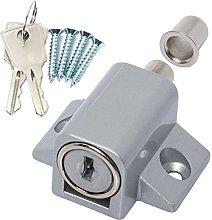 10x Patio Door Lock Catches + Fixings - Sliding